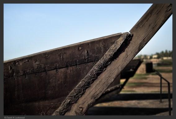 Early boat construction - Dhofar No2
