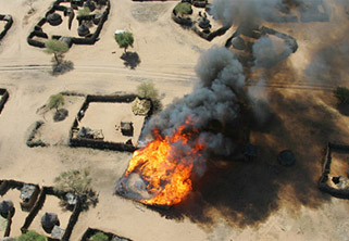 Darfur aerial bombardment