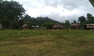 The Karen village at Pk' Law Gaw