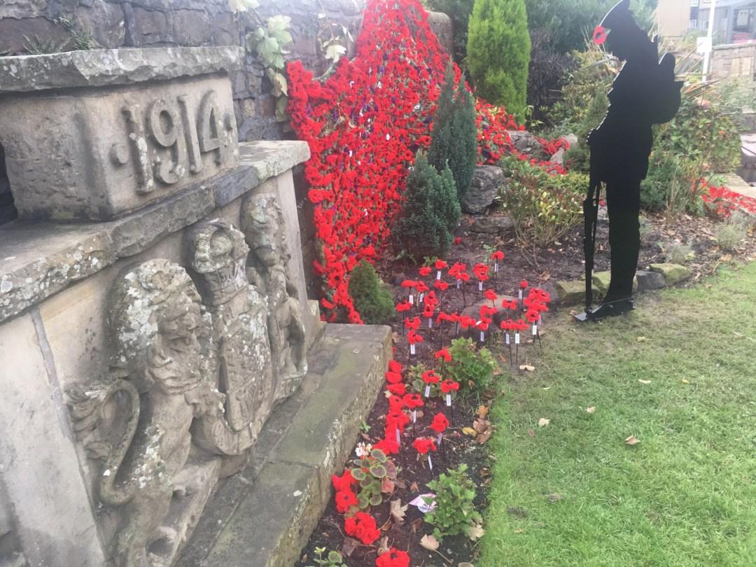 Longridge commemrates Armistice 1918