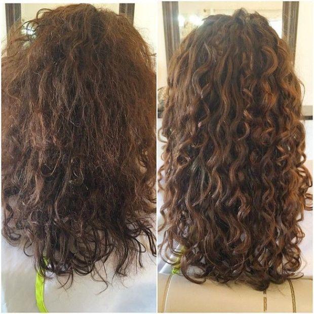 The Curly Girl Method In A Nutshell David David Hair Salon Plymouth