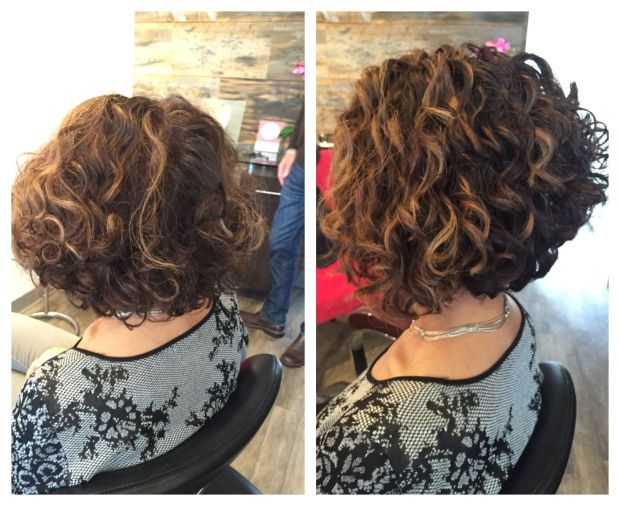 pinterest curly hair transformation