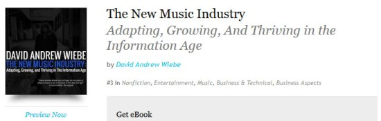 The New Music Industry eBook