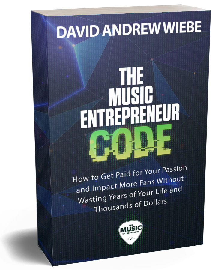 The Music Entrepreneur Code book