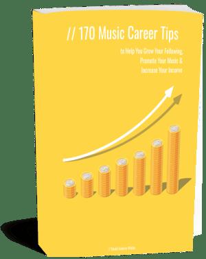 170 Music Career Tips