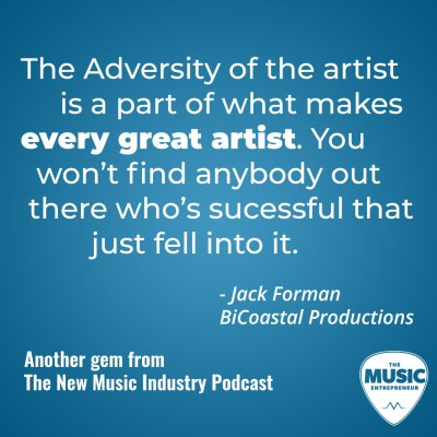 Jack Forman, booking agent quote