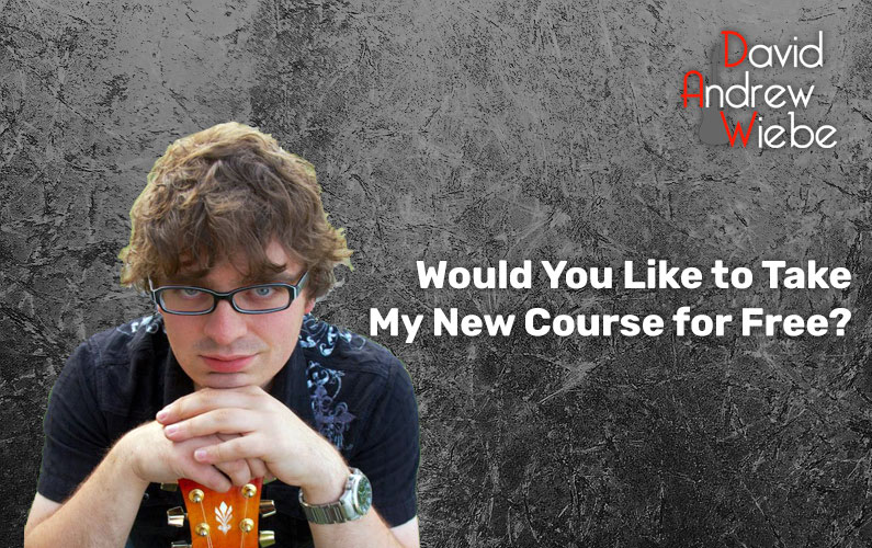 Would You Like to Take My New Course for Free?