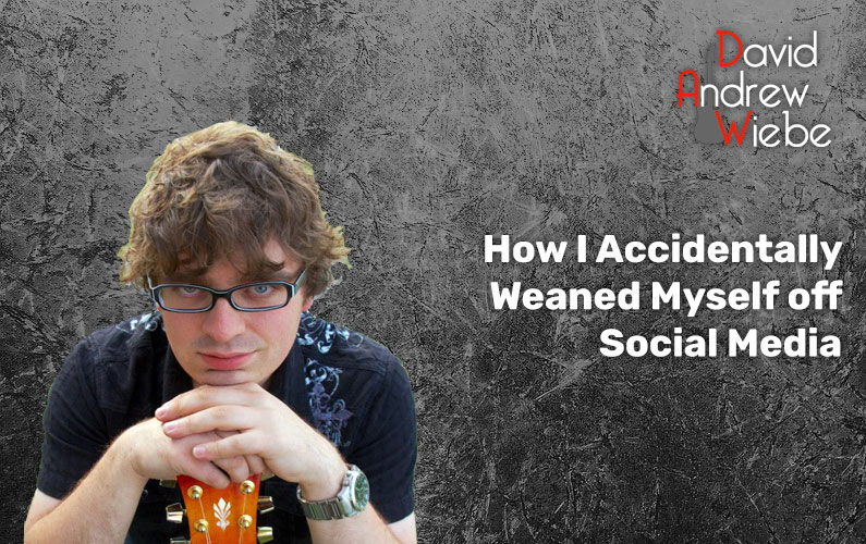 How I Accidentally Weaned Myself off Social Media