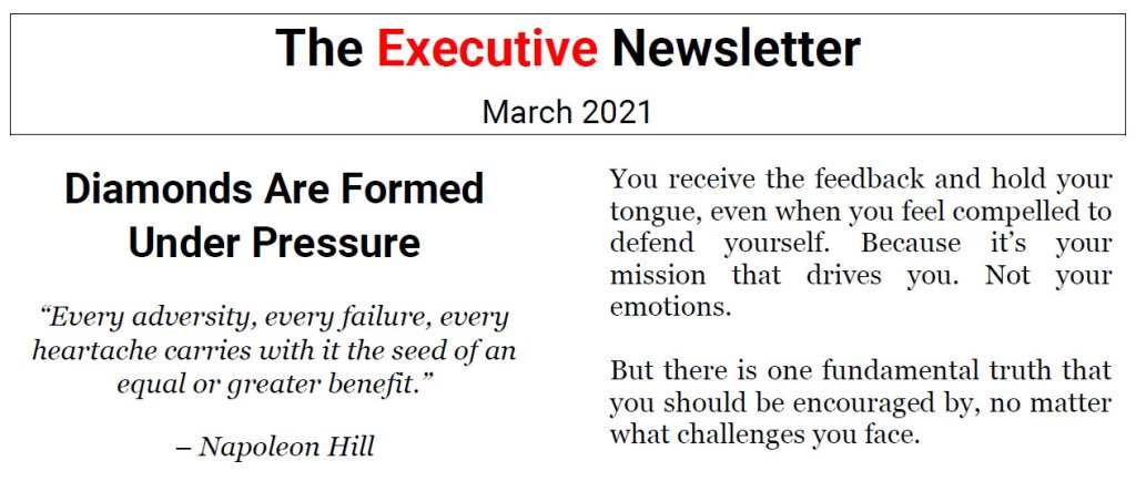 The Executive Newsletter