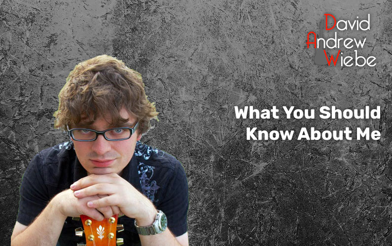 What You Should Know About Me