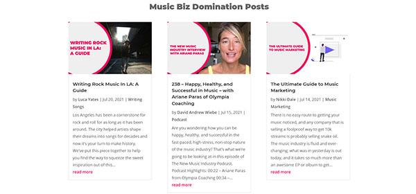 Music Entrepreneur HQ latest posts