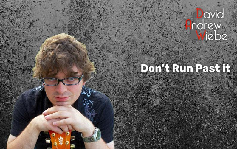 Don't Run Past it