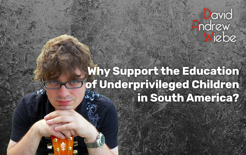 Why Support the Education of Underprivileged Children in South America?