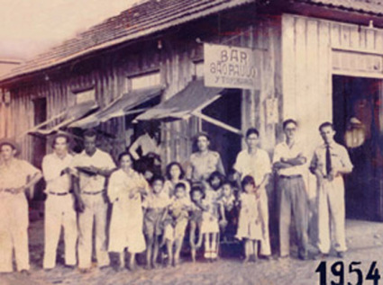 Bar São Paulo, o primeiro da Família Toyokawa (Foto: Acervo Familiar)