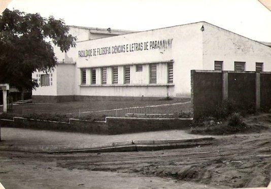 Primeira sede da Fafipa, onde é o atual Senac (Foto: Selma Kozel Paupitz)