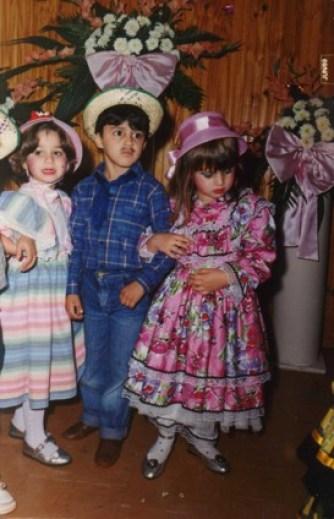 Com cinco anos, um mundo de experiências já se apresentava a mim (Foto: Arquivo Familiar)