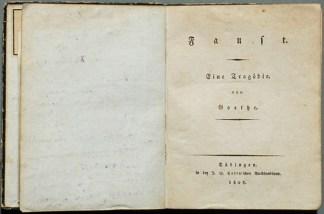 Fausto, obra original publicada em 1808 (Foto: Reprodução)