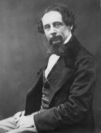Dickens expulsou a esposa de casa e mandou o filho para a Austrália (Foto: Reprodução)