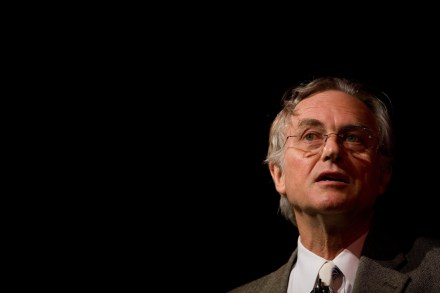 HAY ON WYE, WALES, UNITED KINGDOM - MAY 27: Author and Scientist Richard Dawkins speaks at The Guardian Hay Festival 2007 held at Hay on Wye May 26, 2007 in Powys, Wales, United Kingdom. The festival runs until June 3. (Photo by David Levenson/Getty Images)