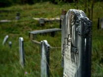 Grave of Antonie Eschbacher, Downieville Cemetery, Downieville, California