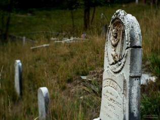 Grave of Ilewlian Hughes, Downieville Cemetery, Downieville, California