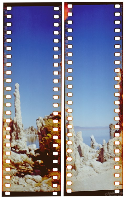 Tufa at Mono Lake (5) with the No. 3 Brownie Model B