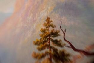 Borrowed Source: Branch and Tree Detail, Thomas Hill, (1829-1908, American) Sugar Loaf Peak, El Dorado County, 1865, Crocker Art Museum.