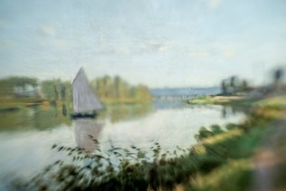 Borrowed Source: Boat Detail, Claude Monet, (French, 1849-1926), Argenteuil, 1872, National Gallery of Art.