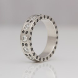 unique platinum diamond eternity ring