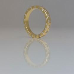 eternity ring diamonds all edges