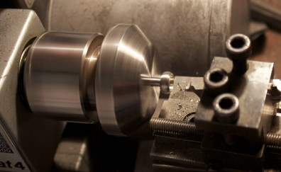 Setting in the lathe