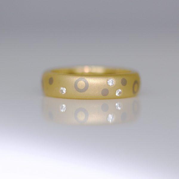Modern diamond ring 0924 DavidAshton