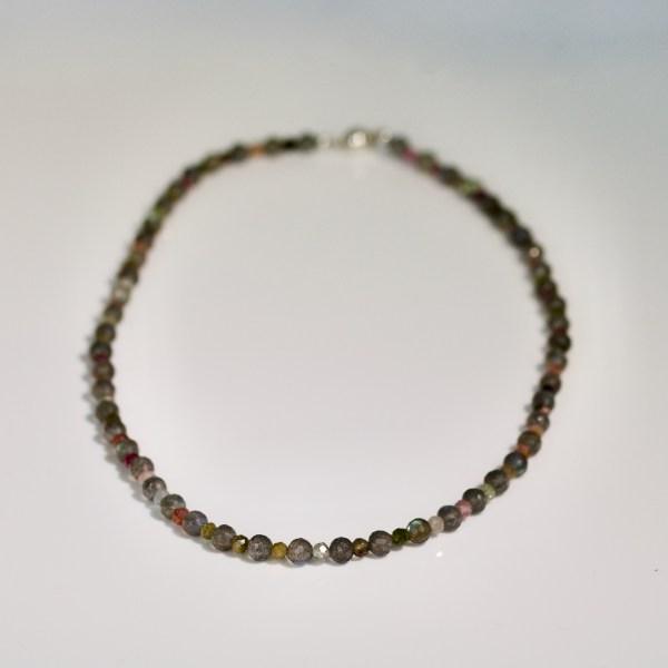 Tourmaline & Labradorite necklace