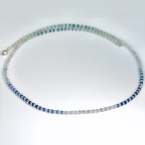 Sapphire & moonstone necklace