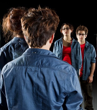"""UCSB Dept. of Theater & Dance - """"Entangled"""" publicity photo 2/6/12"""