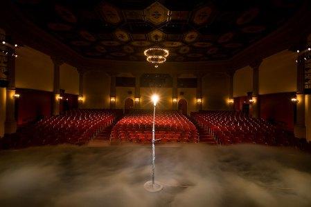 Lobero Theatre Ghost Light Society publicity photo 7/23/08
