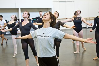 Joffrey Ballet masterclass presented by UCSB Arts & Lectures 3/7/11