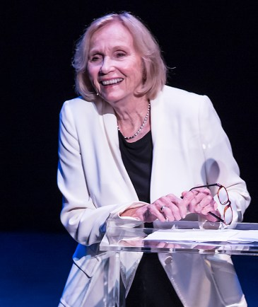 "Eva Marie Saint - ""Curtain Up"" at the New Vic Theatre 11/9/13 Santa Barbara"