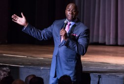 UCSB Arts & Lectures - Magic Johnson 10/24/14 Arlington Theatre