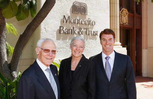 Michael Towbes, Janet Garufis of Montecito Bank & Trust and Scott Reed of the Music Academy of the West 4/16/12