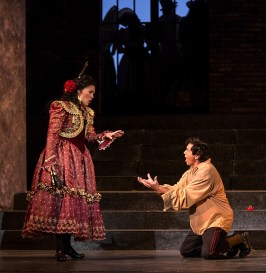 Leann Sandel-Pantaleo as Carmen and Harold Meers as Don José - Opera Santa Barbara 11/2/16 Granada Theatre