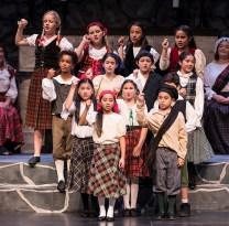 Lots of children featured in Santa Barbara Revels Winter Solstice Celebration 12/16/16 The Lobero Theatre