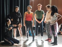Janet Wong dance masterclass - UCSB Arts & Lectures 1/19/17 UCSB HSSB 1151