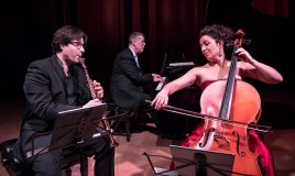 José Franch-Ballester, Warren Jones and Ani Aznavoorian, Trio in A Minor for Piano, Clarinet & Cello by Brahms- Camerata Pacifica 2/17/17 Hahn Hall