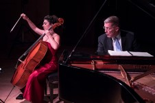 Ani Aznavoorian and Warren Jones, Sonata for Piano & Cello in G minor by Beethoven - Camerata Pacifica 2/17/17 Hahn Hall