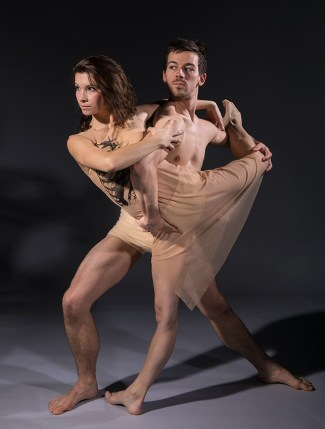 """Deise Mendonça and Thomas Fant - State Street Ballet's """"The Rite of Spring"""" publicity 2/8/17 The Gail Towbes Center for Dance"""