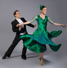 """Ryan Camou and Leila Drake Fossek - State Street Ballet's """"Five by Gershwin"""" publicity 2/8/17 The Gail Towbes Center for Dance"""