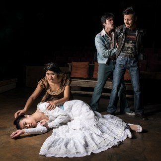 """Publicity photo of UCSB Theater's """"Lydia"""""""