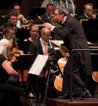 Conductor Fabio Luisi leads the Danish National Symphony Orchestra - CAMA Santa Barbara 3/28/17 The Granada Theatre
