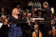 Soprano Deborah Voigt performing with Fabio Luisi and the Danish National Symphony Orchestra - CAMA Santa Barbara 3/28/17 The Granada Theatre